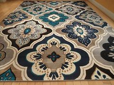 This rug is very nice and it comes in 2 sizes of 8x11 and 5x8 feet. Please note: Exact size for 8x11 is (7.8 x 10.6) and exact size for 5x8 size is...