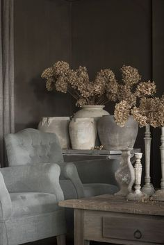 Modern Country, Country Decor, Wabi Sabi, Rustic Room, Interior Design Living Room, Decoration, Living Spaces, Sweet Home, House Design