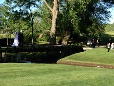 The outdoor ceremony
