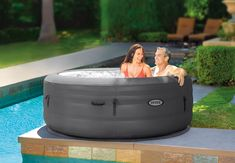 Intex Hot Tub, Tropic Jungle, Round Hot Tub, Jungles, Good And Cheap, Hot Tubs, Construction, Pumps, Simple