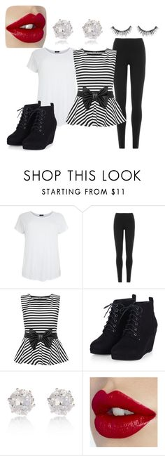 """interview"" by abbymorgan04 on Polyvore featuring DKNY, WearAll, River Island and Sephora Collection"