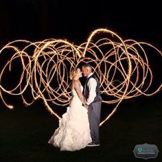 Wedding Sparklers Photography Napa Valley Country Club California.  www.artpixportraitstudio.com #madewithstudio