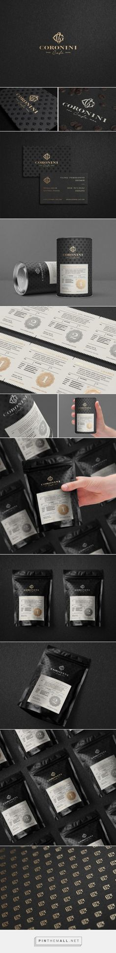 Coronini Cafe Coffee packaging designed by Milovanović (Slovenia) - http://www.packagingoftheworld.com/2016/02/coronini-cafe.html:
