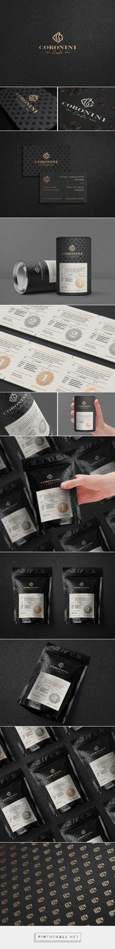 Coronini Cafe Coffee packaging designed by Milovanović (Slovenia) - http://www.packagingoftheworld.com/2016/02/coronini-cafe.html: