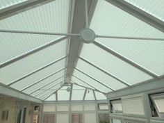 Leicester conservatory blinds to create some shade Conservatory Roof Blinds, Blinds For Windows, Leicester, Ceiling Fan, Photo Galleries, Create, Gallery, Home Decor, Shades For Windows