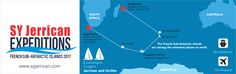 #infographic #adventure #sailing #capetown #subantarctic   Infographic designed for a client of Fuller Insight.