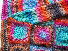 omⒶ KOPPA: ILO - villatakki oma koppa crochet