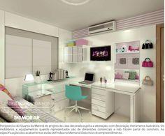 quarto feminino branco_verde