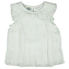Honey & Clover Kidswear / Children's Apparel | Elegant Pleated Top by Mayoral
