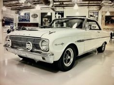 ....Ours was a 3 speed on the column that you had to hold 2nd gear so it wouldn't pop out.  I loved that car!!!            1963 Ford Falcon Sprint - Jay Leno's Garage #Cars #Speed #HotRod