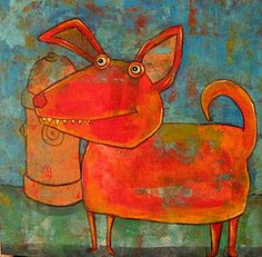 Whimsical Dog, Susan Buckner