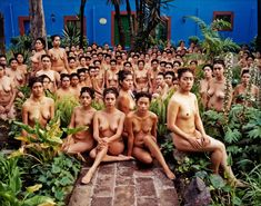 urban nude gardening #2 | foto: spencer tunick