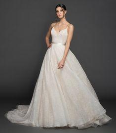 Lazaro Style 3955 Calla Bridal Gown