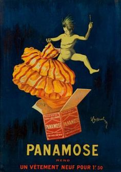 """Panamose"" rend un vêtement neuf pour - - (Leonetto Cappiello) - 1920s Advertisements, Vintage Advertising Posters, Advertising Signs, Vintage French Posters, Vintage Artwork, Vintage Labels, Vintage Ads, Art Deco Posters, Ad Art"
