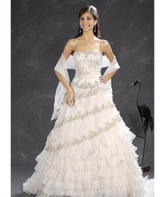wedding dresses a line wedding dresses wedding dresses jewel neckline a line princess strapless chapel train wedding dress
