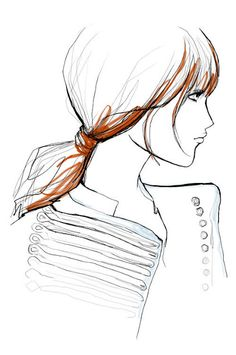 Garance Dore Fashion Illustrations