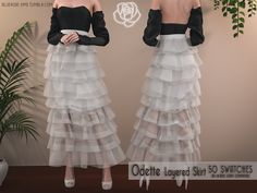 Sims Four, Sims 4 Mm Cc, Sims 4 Mods Clothes, Sims 4 Clothing, Female Clothing, Maxis, Pelo Sims, Sims 4 Dresses, Maxi Dresses