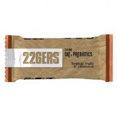 Barrita Evo Bar Oat Prebiotics 226ERS 12 x 60g Tropical Canela