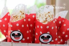 Minnie Mouse Birthday Party via Kara's Party Ideas | KarasPartyIdeas.com (13)
