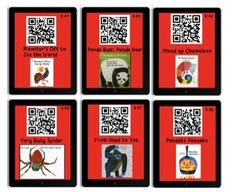 Eric Carle Listening Center Using QR Codes