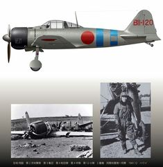 """The """"Niihau Incident's"""" Zero, pilot Shigenori Nishikaichi, Hawaii, Fighter Aircraft, Fighter Jets, In The Air Tonight, Japanese Colors, Imperial Japanese Navy, Pearl Harbor Attack, Ww2 Planes, Aviation Art, Military Aircraft"""