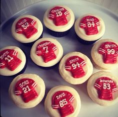 Game day cookies.
