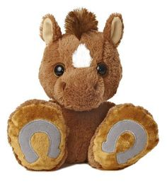 Aurora World Taddle Toes Trots Horse Plush 10 Tall