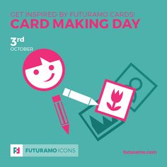 Get inspired by futuramo cards! Card Making Day! All icons used in the series are available in our App. Imagine what YOU could create with them!  Check out our FUTURAMO ICONS – a perfect tool for designers & developers on futuramo.com #futuramo  #futuramoapps  #futuramoicons  #futuramocalendar #icondesign  #icons  #iconsystem  #pixel #pixelperfect  #flatdesign  #ux  #ui  #uidesign  #design #developer  #webdesign  #app  #appdesign #graphicdesign