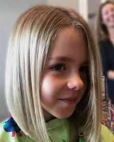 9 Best And Cute Bob Haircuts For Kids Hair Pinterest Little