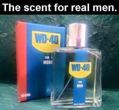 WD-40 cologne