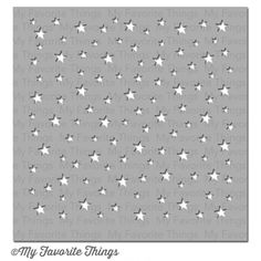 My Favorite Things STAR CELEBRATION Mixables Stencil MFT ST78