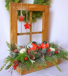 Vintage Christmas, Christmas Wreaths, Christmas Crafts, Christmas Decorations, Xmas, Holiday Decor, New Year's Crafts, Diy And Crafts, Topiary
