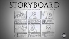 A Storyboard Is A Graphic Organizer In The Form Of Illustrations