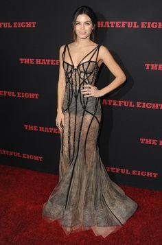 Jenna Dewan Tatum Wears Totally Sheer, Sexy Dress For Movie Premiere Sexy Maxi Dress, Lace Dress, Dress Up, Pretty Dresses, Beautiful Dresses, Look Dark, Bad Fashion, Sheer Gown, Jenna Dewan