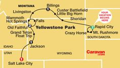 MUST DO IT - road trip through national parks of America: Gr.- MUST DO IT – road trip through national parks of America: Grand Canyon, Mt Rushmore, Grand Tetons, Yellowstone. Do it with a escorted tour if you don't wanna drive, or rent a car! Yellowstone Tours, Yellowstone Vacation, Yellowstone National Park, Rv Travel, Summer Travel, Winter Travel, Mount Rushmore, Grand Canyon, Such Und Find