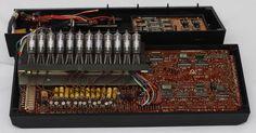 Commodore 512 Nixie Tube Calculator inside- sweet nixies