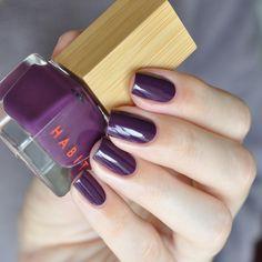 Habit Cosmetics Nail Polish Color 16 Lush Swatch