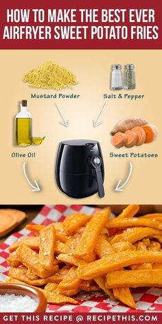 #AirfryerRecipes | How To Make The Best Ever Airfryer Sweet Potato Fries