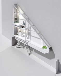 World's Thinnest House: Keret House by Jakub Szczesny - Design Milk