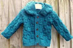 Hand Knitted Baby Cardigan. Ready to ship. Hand Knitted baby sweater. Knitted hooded cardigan. Knit hooded sweater. Baby knitted clothes by SapphiraDesignsKnits on Etsy