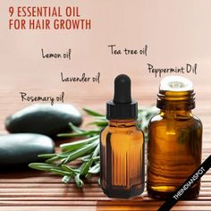 9 Essential Oil for healthy Hair Growth