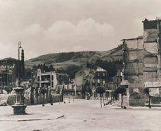 Ruinas de la localidad vizcaína de Guernica