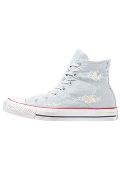 40f21946fddaaf Converse CHUCK TAYLOR ALL STAR - Sneakers alte - light blue garnet white -