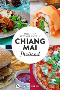 Tired of eating Thai food? Here are a few of our favorite places to eat in Chiang Mai