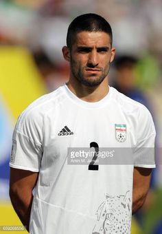 Milad Mohammadi of Iran looks on during Iran against China PR FIFA 2018 World Cup Qualifier on March 28 2017 in Tehran Iran