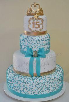 Bolo cenográfico #cake15thbirthday #15years