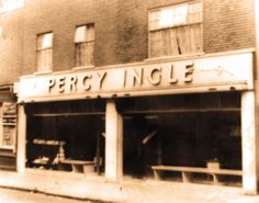 The first Percy Ingle shop, Clarence Road, Clapton 1954