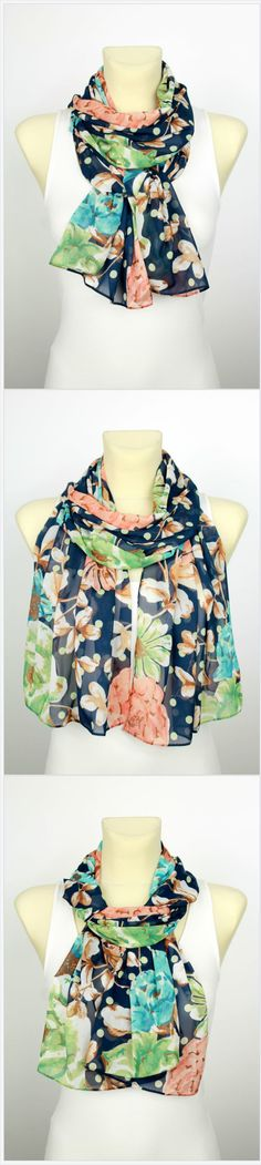 Do you like unique fashion designs? If yes then this handmade scarf is something to consider. It is 100% handmade from an original Italian silk fabric. We produce only limited edition of scarves so you can be sure that the items are original and one of a kind. Perfect birthday gift for a women, mom, wife, girlfriend, daughter or sister! Click through to see more handmade scarves at our Etsy Shop