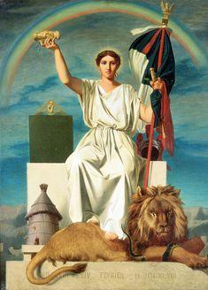 """<p>La <a href=""""http://www.histoire-image.org/etudes/utopisme-republicain-1848"""">Révolution de février 1848</a> entraîne un retour des républicains au pouvoir.<br><br>Dès la fin du mois de mars, le gouvernement lance par voie de presse un «appel aux artistes» sous la forme d'un concours pour «la composition de la figure symbolique de la République française»; dans le même temps, est ouvert un concours pour une figure sculptée de la République ainsi que pour la méd..."""