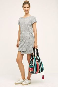 Wrapped Tee Dress #Anthropologie